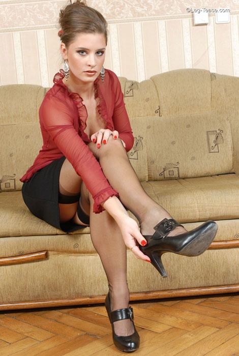 Sexy Leg Tease 43